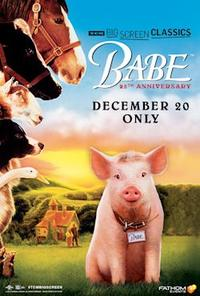 Babe (1995) 25th Anniversary presented by TCM poster