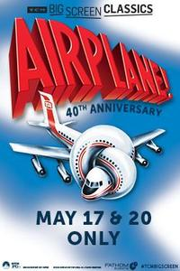 Airplane! (1980) 40th Anniversary Presented by TCM poster