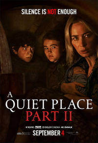 A Quiet Place Part II (2021) poster