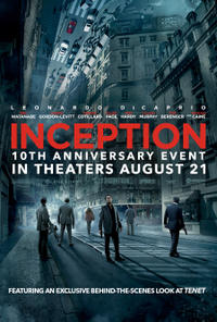 Inception 10th Anniversary poster