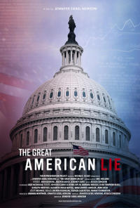 The Great American Lie (2020) poster