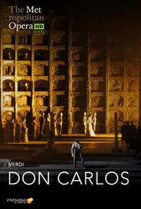 The Metropolitan Opera: Don Carlos (2021) poster