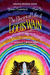 The Electrical Life of Louis Wain (2021) poster