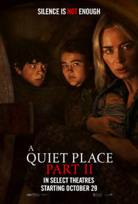 A Quiet Place Part II Halloween Re-Release (2021) poster