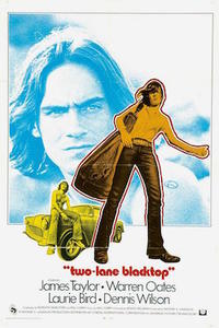Two Lane Blacktop / Cockfighter Movie Poster