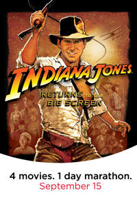 Indiana Jones AMC Marathon Movie Poster