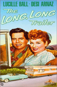 The Long, Long Trailer / The First Time Movie Poster