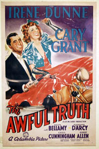 The Awful Truth / Ruggles of Red Gap Movie Poster