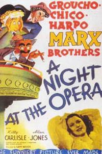 A Night at the Opera / Monkey Business Movie Poster