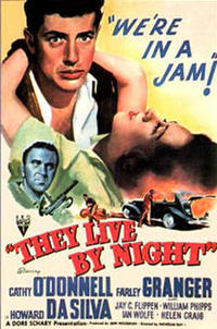 They Live by Night / On Dangerous Ground Movie Poster