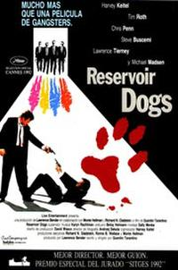 Mad Dog Time / Reservoir Dogs Movie Poster
