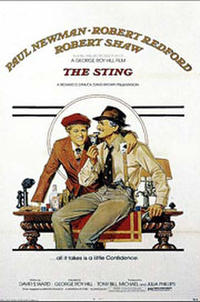 The Sting / Butch Cassidy and the Sundance Kid Movie Poster