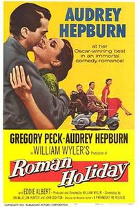 Roman Holiday (1953) Movie Poster