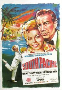 South Pacific (1958) Movie Poster