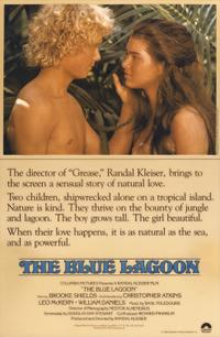 The Blue Lagoon (1980) Movie Poster