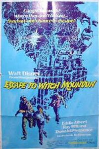 Escape to Witch Mountain / Freaky Friday Movie Poster
