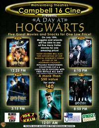 A Day at Hogwarts Movie Poster