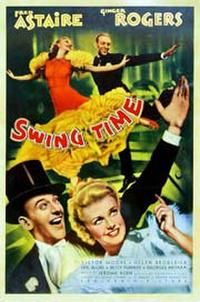 Swing Time / 42nd Street Movie Poster