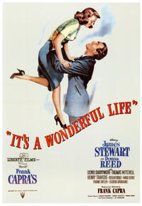 It's a Wonderful Life / Shop Around the Corner Movie Poster