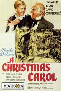 A Christmas Carol / Shop Around the Corner Movie Poster