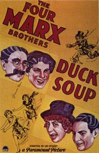 Duck Soup / Horse Feathers Movie Poster