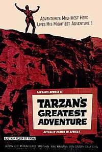 Tarzan's Greatest Adventure / Tarzan Escapes Movie Poster