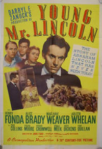 Young Mr. Lincoln / Prisoner of Shark Island Movie Poster