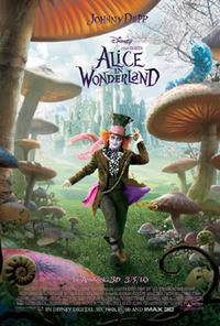 Alice in Wonderland (2010) Movie Poster