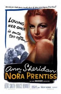 The Clay Pigeon / Nora Prentiss Movie Poster
