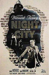 Night and the City / Woman in Hiding Movie Poster