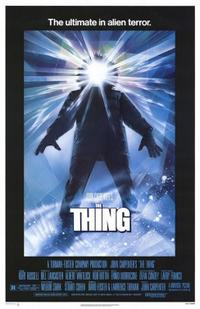 The Thing / The Fog Movie Poster