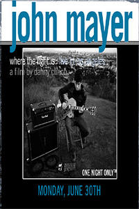 John Mayer: Where The Light Is Movie Poster