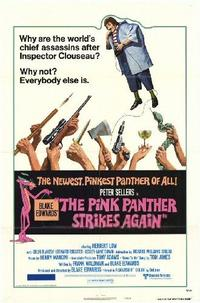 The Pink Panther Strikes Again / Revenge of the Pink Panther Movie Poster