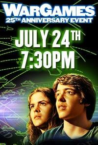 WarGames 25th Anniversary Movie Poster