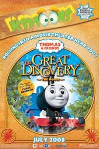 Thomas & Friends: The Great Discovery Movie Poster