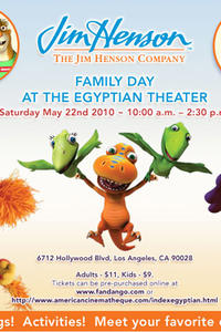 Jim Henson Family Day Movie Poster