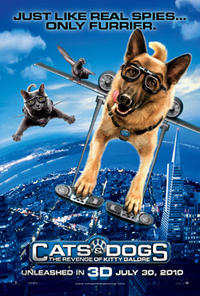 Cats & Dogs: The Revenge of Kitty Galore Movie Poster