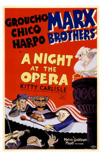 A Night at the Opera / Animal Crackers Movie Poster