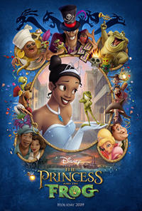 The Princess and the Frog Movie Poster