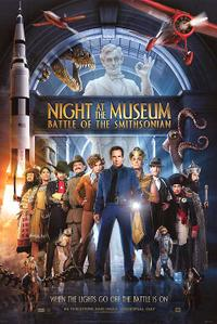 Night at the Museum: Battle of the Smithsonian: The IMAX Experience Movie Poster