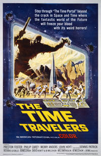 Famous Monster: Forrest J. Ackerman / The Time Travelers Movie Poster