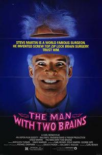 The Man with Two Brains / Dead Men Don't Wear Plaid Movie Poster