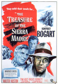 The Treasure of the Sierra Madre / The Sea Wolf (2009) Movie Poster
