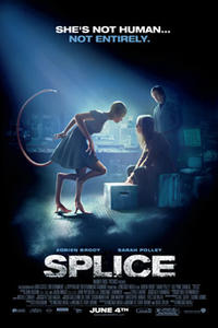 Splice Movie Poster