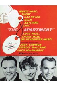 The Apartment / One, Two, Three Movie Poster