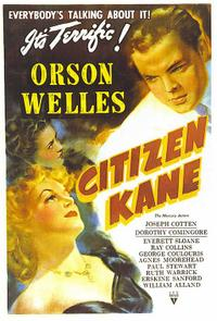 Citizen Kane / The Magnificent Ambersons Movie Poster