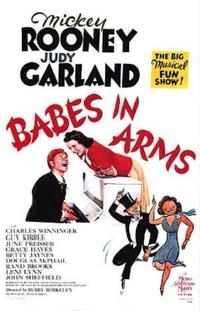 Babes in Arms / Girl Crazy Movie Poster
