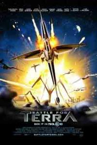 Battle for Terra in 3D Movie Poster