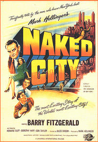 The Naked City / Never On Sunday Movie Poster