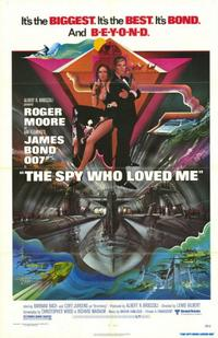 The Spy Who Loved Me / Live and Let Die Movie Poster